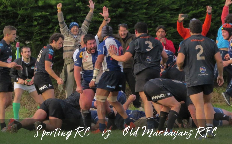 Sporting RC  vs Old Mackayans RFC . Este sábado 10 de julio